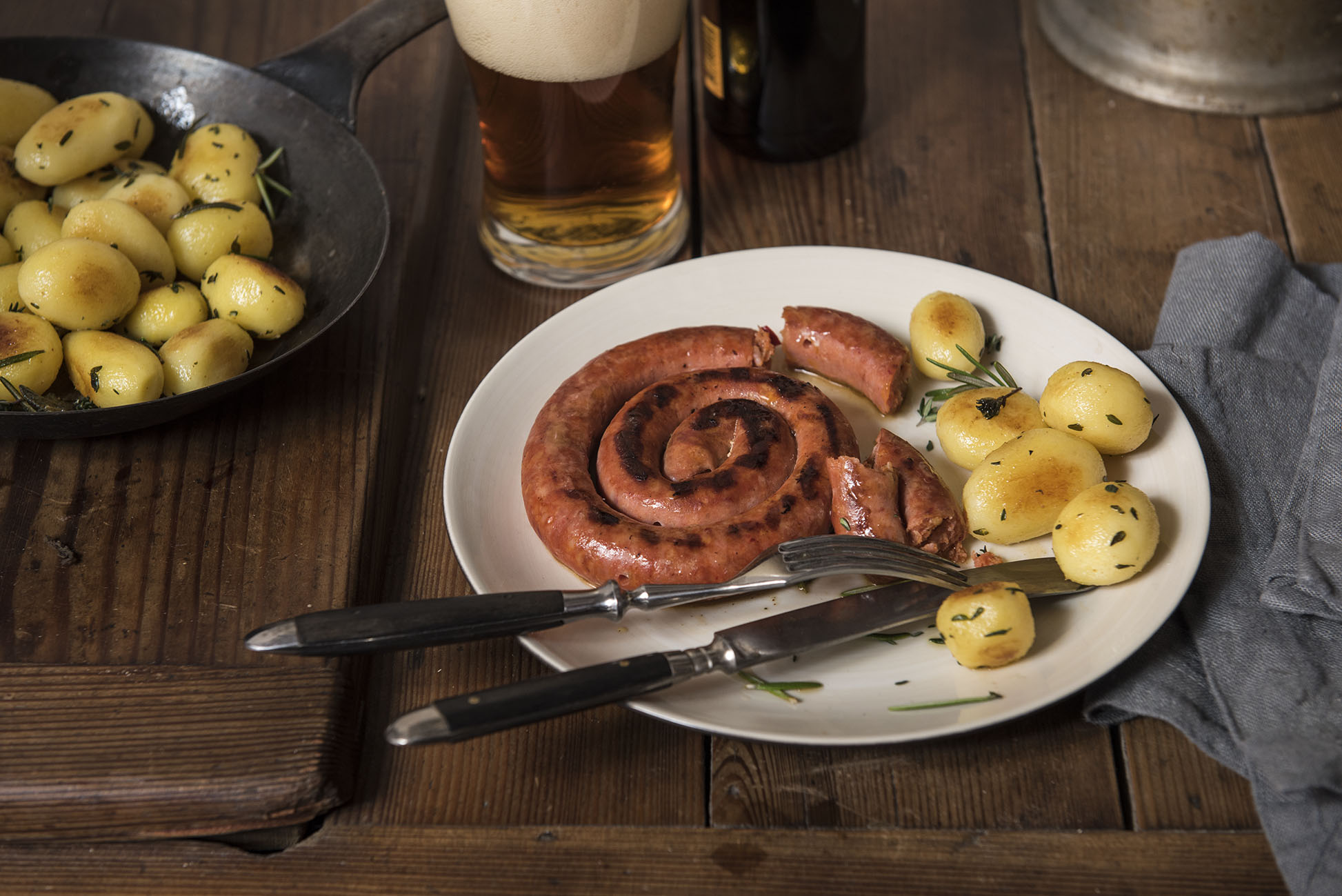 Rapelli Grillwurst mit Tessiner Chili